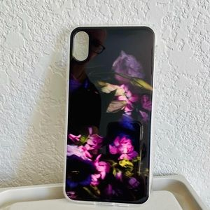 Heyday iPhone XS Max case with pocket floral